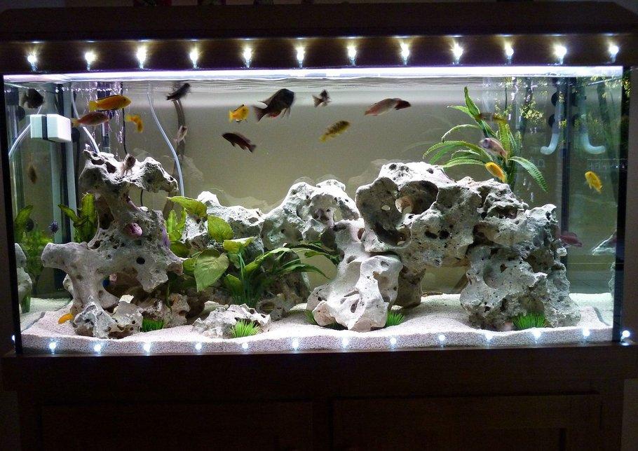 Оформление для аквариума своими руками