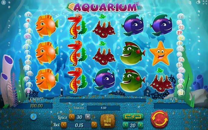 Игровой слот Aquarium